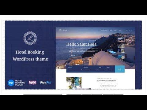 Hotel Booking Wordpress Theme Luviana Themeforest Templates Wordpress Theme Theme Hotel Hotel