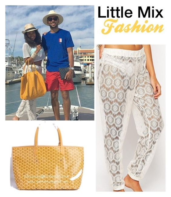 """Leigh in Mexico"" by mixerfromsweden ❤ liked on Polyvore featuring Goyard and ASOS"