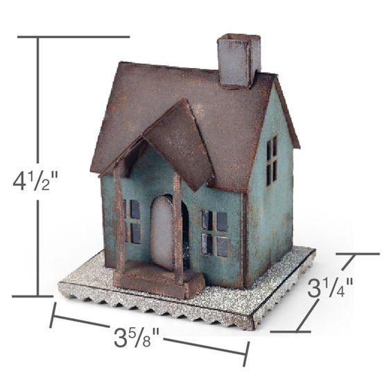 XL 660992 - Sizzix Bigz XL Die - Village Dwelling by Tim Holtz