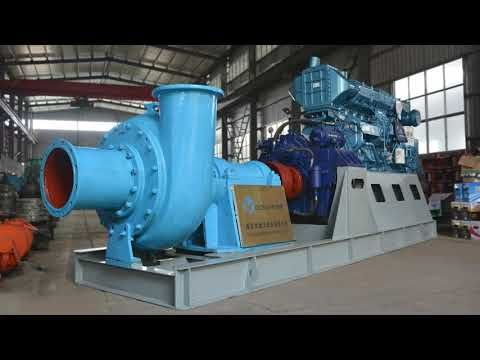 16 Inch Sand Dredge Pump With High Pressure Water Jet Discharge Sand For In 2020 Pumps Water Jet Water Treatment