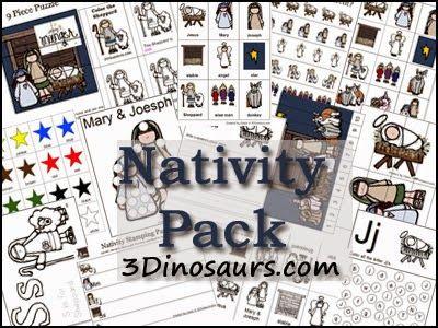 Sempre criança:  http://www.3dinosaurs.com/pdf/packs/nativitypart1...