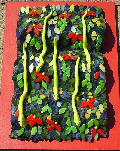 """Rain Forest"" | by Susan Turlington Mosaics"