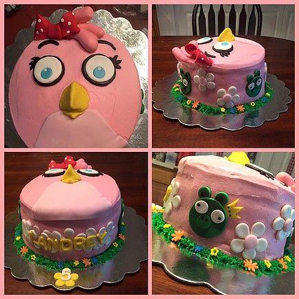 Stella The Angry Bird cake
