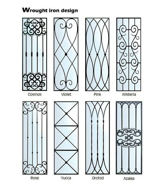 Pin By Facelift Design Interiors On Wrought Iron Metalwork Grill Design Grill Door Design Metal Doors Design