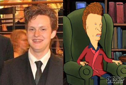 Real People Look Like Cartoons Butthead Look Alike Contest - People cartoon look alikes