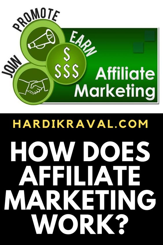 what is an affiliate marketing and how does it work