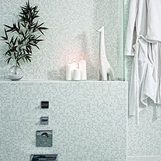 Trend #handmade #glass #mosaic #tiles from @annsacks are not only pretty to look at but they're also great for the environment since they contain up to 77% post-consumer #recycled material!  #architecture #backsplash #bathroom #bathroomdesign #decor #design #home #homedecor #homeinspo #idcdesigners #interiors #instahome #instastyle #mosaics #stylish #tiled #tilelove #tilestyle #tileaddiction #tileobsession #tileometry #TileTuesday by tileometry