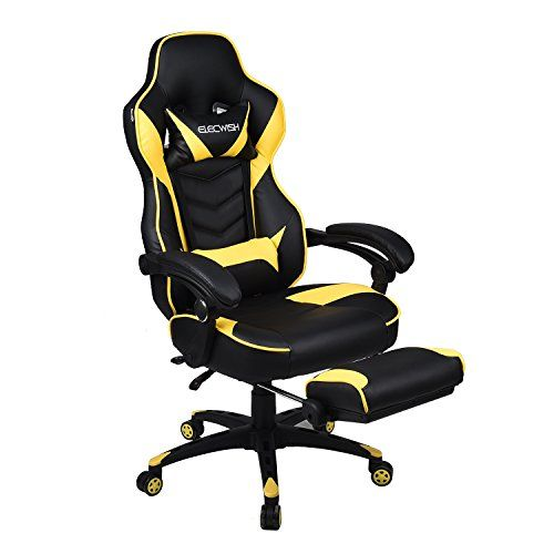 Office Racing Video Gaming Chair Executive Swivel Pu Leather Seat