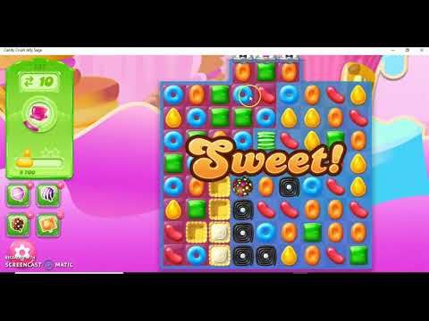 Candy Crush Jelly Saga Level 137 Super Hard Level No Booster Youtube