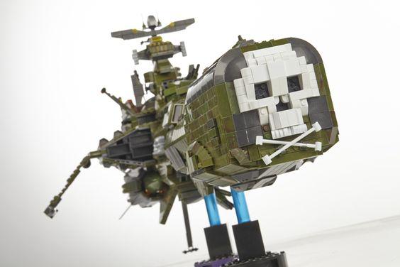 Arcadia Captain Harlock Albator Atlantis Mega Blok