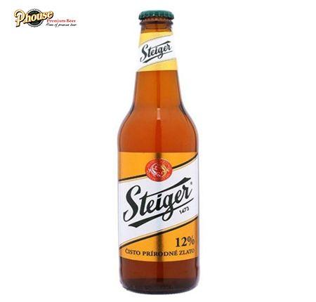 Bia Steiger Gold chai 500ml