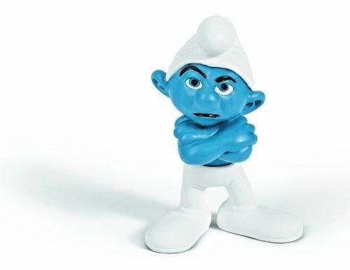 Miesepeter Schlumpf - mein persönlicher Held #Spielzeug #Schlumpf