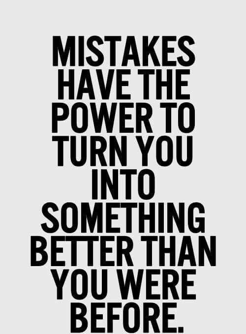 30 Inspirational Mistake Quotes And Sayings For Moving On In Life Enkiquotes Learning From Mistakes Quotes Mistake Quotes Learning Quotes