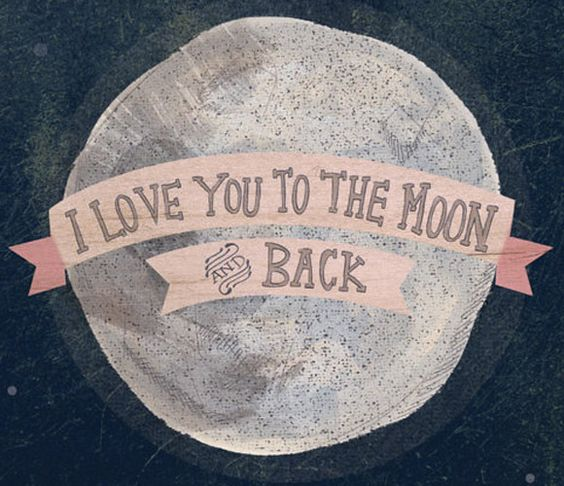 To The Moon - Print.