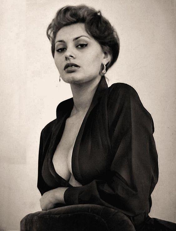Sophia Loren, mujer con carácter.