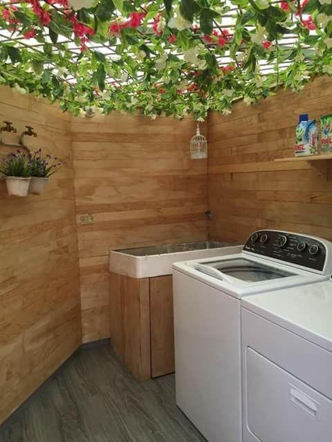 Centro de lavado house pinterest for Cubiertas para casas
