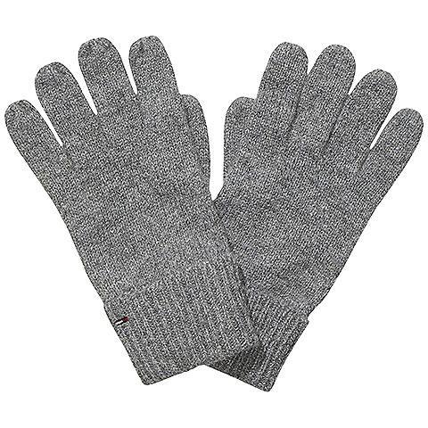 Klassische Hilfiger Denim Erlery Handschuhe in melierter Strickoptik und Rippstrickbündchen. Das Logostitching befindet sich auf dem Bündchen.50% Polyamid, 30% Viskose, 20% Wolle...