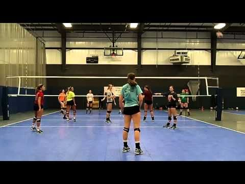 Munciana Volleyball Pizza King Drill Of The Month May Video Youtube Practice Volleyball May Video