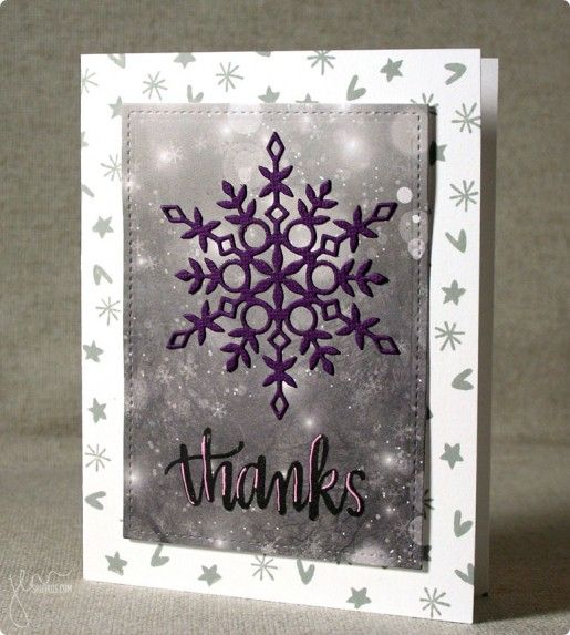 Thank You, featuring Simon Says Stamp January Card Kit | shurkus.com @simonsaysstamp #handmadethankyou