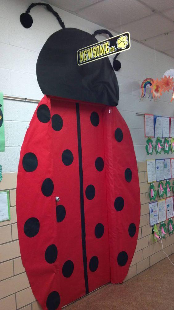 Ladybug Classroom Decor : A teacher created this for their classroom door i love