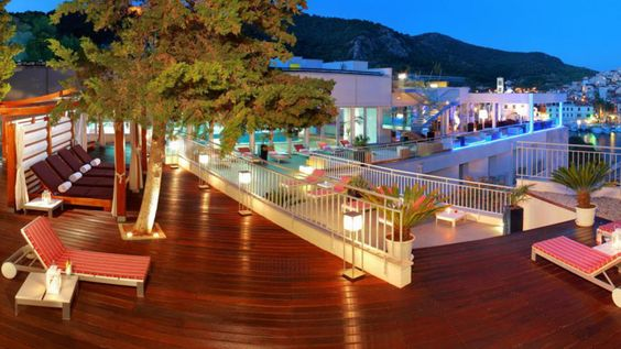Image of The Top Bar at Adriana Hotel in Hvar