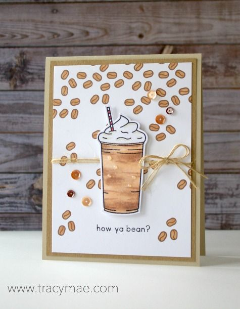 Coffee Card, Mint Owl Studio, card, card making, stamping, stamps, paper crafts, Copic Markers, Copic Coloring