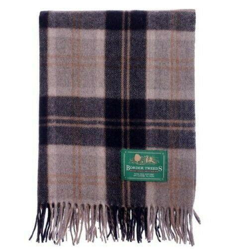 Rug Blanket Wool Tartan
