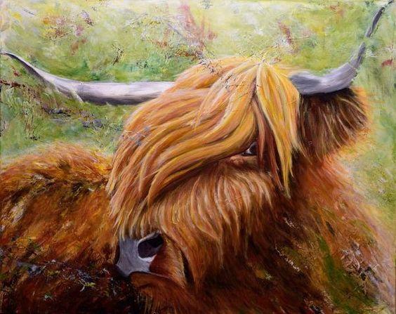 """Acrylbild, """"Out of the Highlands"""""""