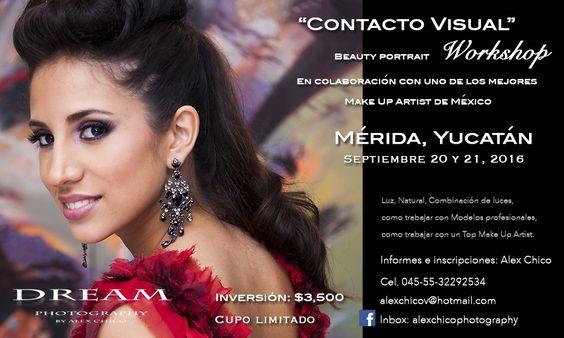 Contacto Visual - Beauty portrait Workshop en Septiembre, Mérida, Yucatán, no pierdas esta gran oportunidad.