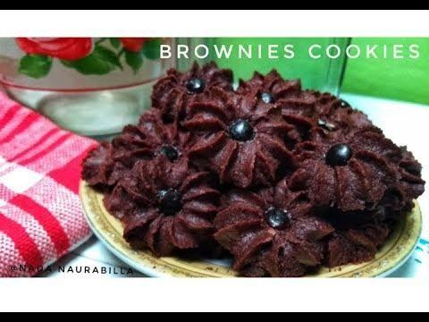 Video Kue Kering Lebaran Brownies Kering Yang Super Renyah Dan Nyoklat Kue Kering Brownie Cookies Brownies