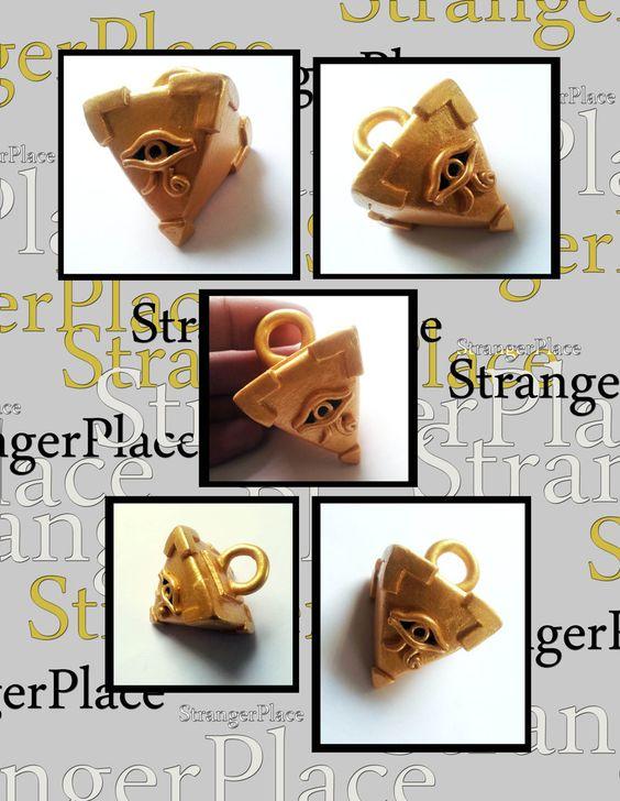 Yu-Gi-Oh Millenium Puzzle Pendant Commission by ~StrangerPlace on deviantART
