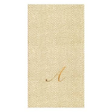 Set of 24 Caspari Jute Paper Linen Guest Towels. I love these...so posh!
