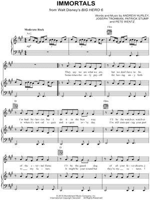For Katherine--Print and download Centuries sheet music by Fall Out ...