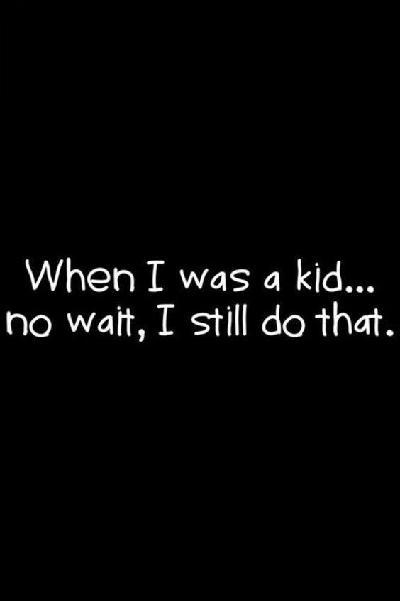 Kid grown up