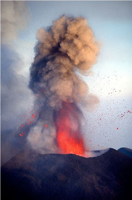 What the UEA50 volcano could have looked like!