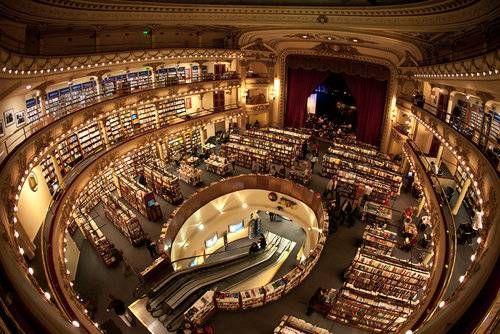世界一美しいブエノスアイレスの本屋05 Library Architecture Architecture Amazing Architecture