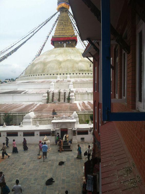 Kathmandu, Nepal. Boudha stupa. I took this
