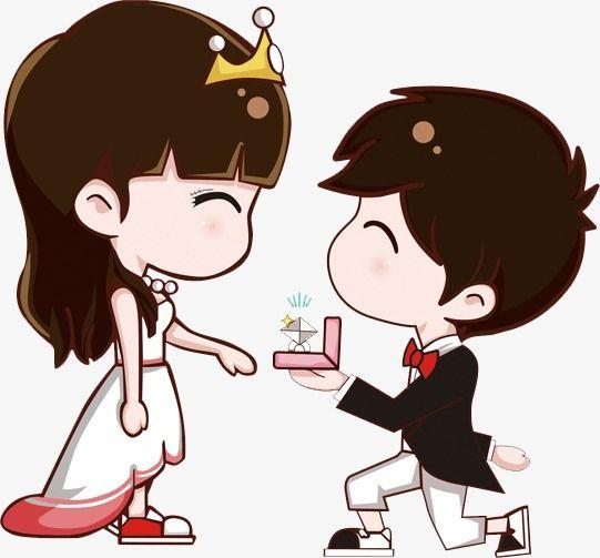 Propose Cute Love Cartoons Cute Cartoon Pictures Cute Couple Cartoon