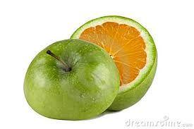 Resultado de imagem para verde laranja