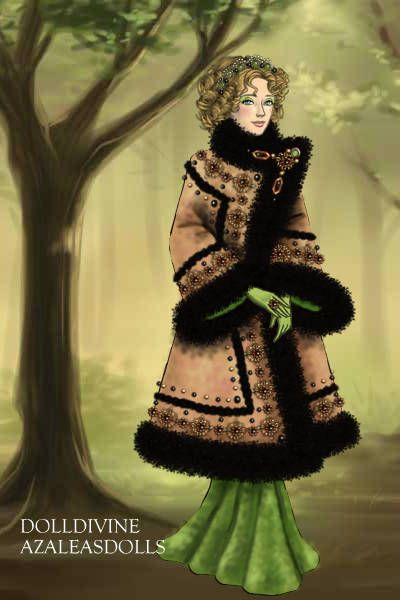 1920s coat ~ by Inanna ~ created using the LotR Hobbit doll maker | DollDivine.com