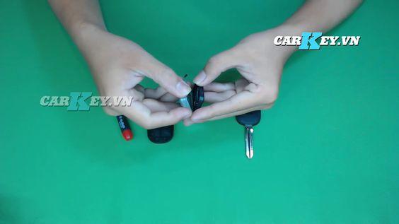 thay pin chìa khóa ô tô Chevrolet Captiva - Carkey.vn