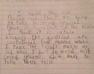 Why a 7-year-old named Rex gets sad and nervous at school. Saige Price, a 7-year-old second-grader at Briarwood Elementary School in Florham Park, N.J., recently addressed the New Jersey Board of Education about her experience in school. She said in part:...