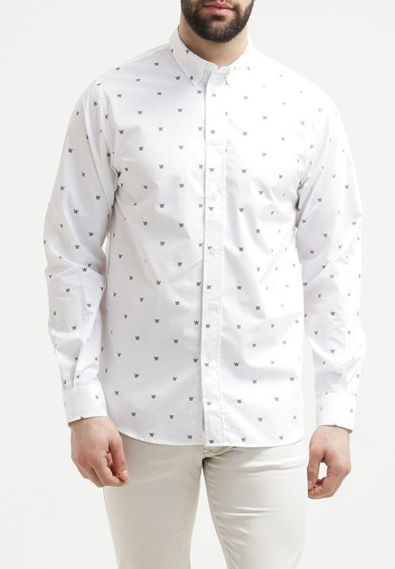Wood Wood Hemd - white