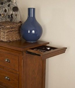 Secret Drawer Compartment in Furniture: