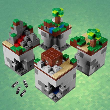"""Lego Minecraft !    """"C'est officiel, Lego produira bien des briques à l'effigie du jeu phénomène, Minecraft ! La boite vous coûtera tout de même près de 35€, mais bon, quand on aime ! Après tout, c'est assez logique, vu que le monde désigné par Mojang est tout de même très cubique. Neeed ?"""""""