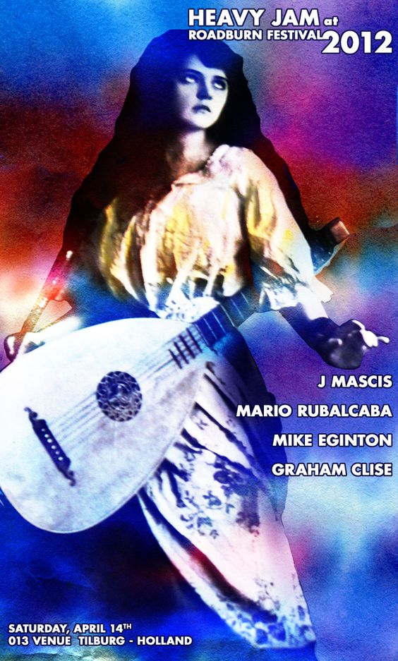 Heavy Jam w/ J. Mascis, Mario Rubalcaba, Graham Clise and Mike Eighton