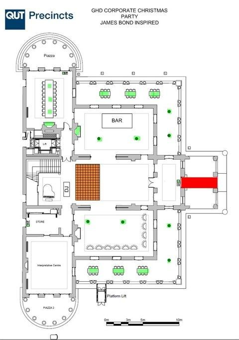 Corporate Christmas Party Layout Party Layout Professional