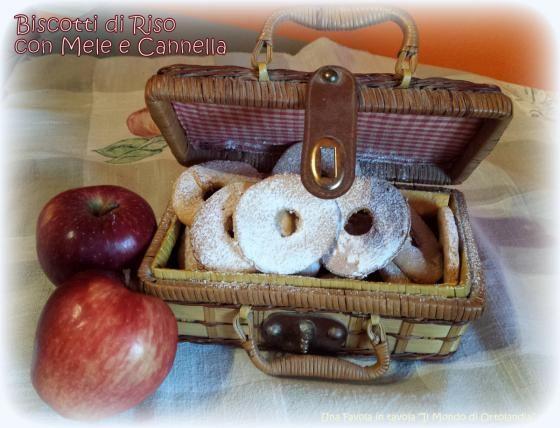 Biscotti di riso con mele e cannella: il tesoro della ciurma!