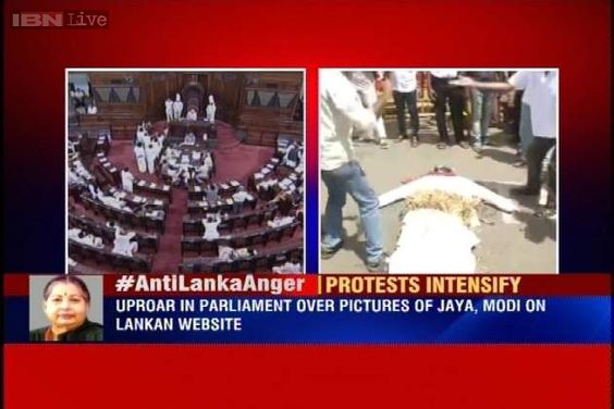 Outrage in and out of Parliament over derogatory Jaya-Modi article on Lankan website