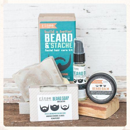 Beard & Stache Kit: